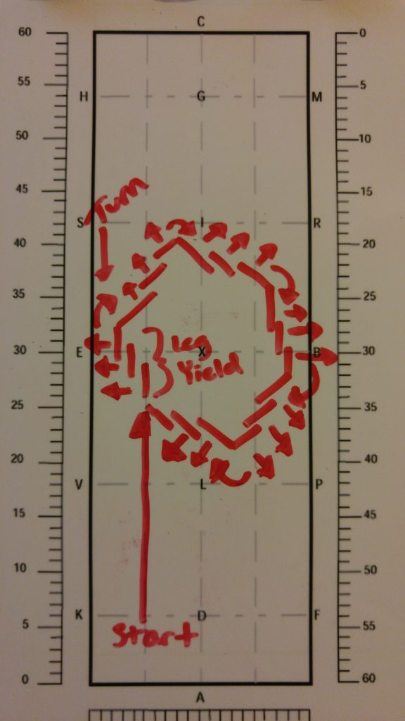 the leg yield hexagon diagram
